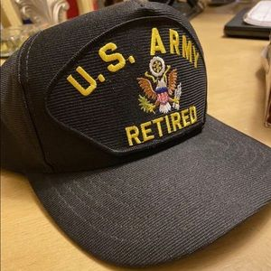 US Army Retired Official Military Eagle American